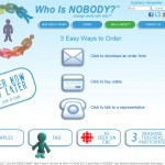 Who Is NOBODY? - Order - Alex Seymour